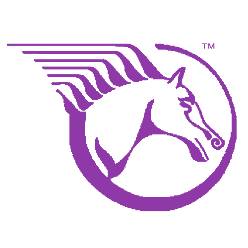 Woolnough's horse head logo TM