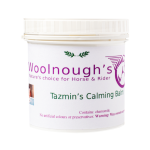 calming balm jar excellent for that stressed out equine
