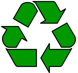 The World of Woolnough's Recyclable logo